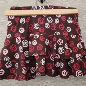 Gymboree skirt with ruffles - Size 7